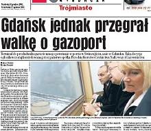 Gdańsk przegrał gazoport