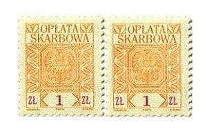Żegnajcie znaczki skarbowe