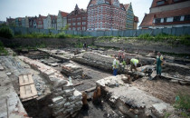 XIV-wieczna łodź odkryta na Wyspie Spichrzów