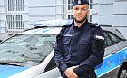 Policjant obezwładnił i uratował niedoszłego samobójcę