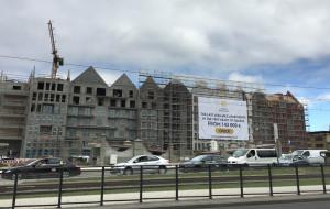 Wiecha na budynkach Grano Hotel i Grano Residence