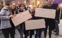 Protest w Gdańsku przeciwko karaniu za...