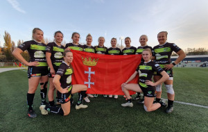 Biało-Zielone Ladies Gdańsk liderkami na półmetku mistrzostw Polski rugby kobiet