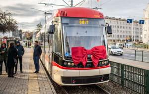 Dwa nowe tramwaje już na torach