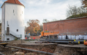 XV-wieczne fortyfikacje odkryte przy wiadukcie Biskupia Górka