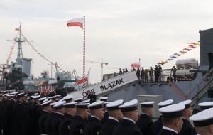 ORP Ślązak wszedł do służby. Uroczystość w Gdyni