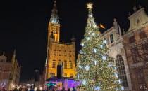 Św. Mikołaj zapalił lampki na gdańskiej...