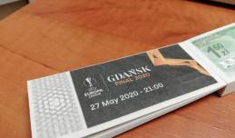 Limitowane bilety dla kolekcjonerów z okazji finału Ligi Europy 2020 w Gdańsku