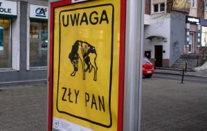Plakaty z przesłaniem w Trójmieście