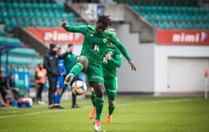 Czy Arka Gdynia znajdzie pieniądze na transfer Gando, gwiazdy FCI Levadia?