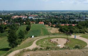 Nowa lokalizacja wieży widokowej w parku Oruńskim