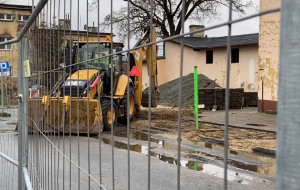 Parking przy SKM Chylonia zamknięty przez budowę węzła