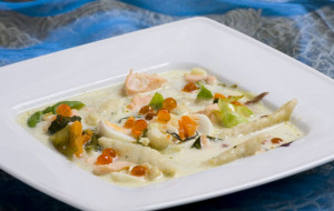 Tradycyjne smaki Pomorza: zupa bursztynowa