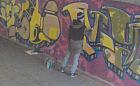 Graficiarz zatrzymany w samo południe