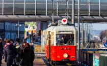 Walentynkowy tramwaj jeździ po Gdańsku