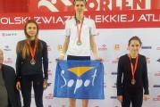 Halowe mistrzostwa Polski w lekkoatletyce. U-18 i U-20. Cztery tytuły dla Trójmiasta
