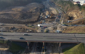 Trasa Kaszubska: raport z budowy, kolejne utrudnienia