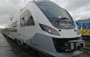 Pociąg Impuls trafił na tory siedem miesięcy przed terminem