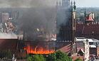 Pożar św. Katarzyny: zarzuty dla szefa dekarzy