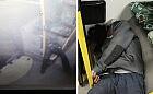 Kierowca GAiT zrobił zdjęcie leżącego pasażera i wrzucił do sieci