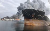 Strażacy ugasili duży pożar spichlerza w...