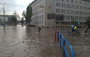 Chcą zabezpieczyć urząd i okolicę Nowych Ogrodów przed zalaniem