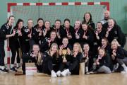 SPR Arka Gdynia kolekcjonuje brązowe medale i zmierza do I ligi piłkarek ręcznych