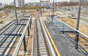 Postęp prac na pętli tramwajowej Ujeścisko