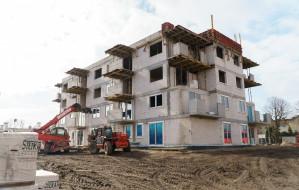 Trwa budowa mieszkań komunalnych na Oksywiu