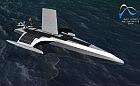 Kadłub bezzałogowego statku Mayflower zbudowany w Gdańsku