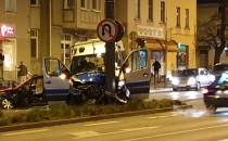 Dziewięć osób rannych w wypadku radiowozu...