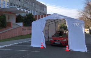 Testy na COVID-19 bez wychodzenia z auta