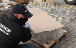 Setki litrów alkoholu z przemytu dla szpitala
