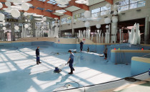 Serwis, naprawa i czyszczenie aquaparku w...