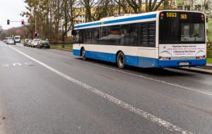 Przedłużą buspas na Witominie