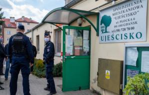 Przewrót w spółdzielni Ujeścisko i interwencja policji