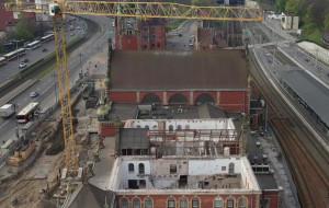 Dworzec Gdańsk Główny PKP: zajrzyj do budynku przez rozebrany dach