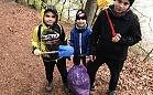 Rodzina posprzątała las w Otominie