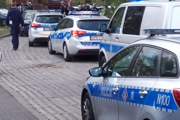 Strzały ostrzegawcze i policyjny pościg na Jasieniu