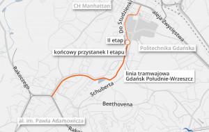 Tramwaj z południa Gdańska do Wrzeszcza dojedzie tylko do Politechniki?
