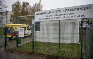 Izba Przyjęć w szpitalu psychiatrycznym zamknięta do 8 maja