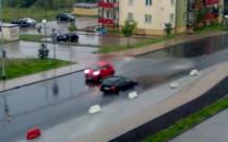 Zalane ulice i piwnice po burzy nad Gdańskiem