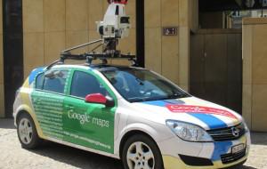 Samochody Google robią zdjęcia w Gdyni