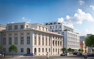 Trwa renowacja budynku dawnego Banku Polskiego w Gdyni