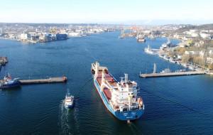 Port Gdynia utrzymał wzrost przeładunków