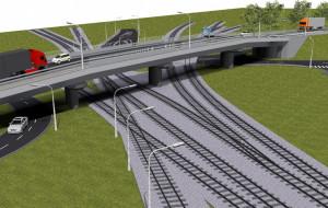 Kolejarze zbudują 100-metrowy wiadukt w Gdańsku