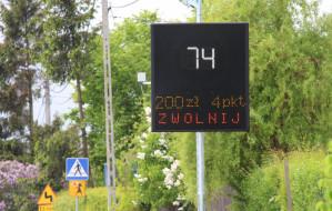 Znaki poinformują kierowców o wysokości mandatu