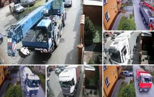 Mimo zakazu ciężkie samochody zrobiły sobie skrót. Mieszkańcy zainstalowali kamery