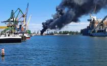 Opanowano pożar złomowiska w gdańskim porcie