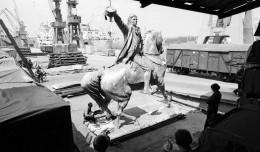 Unikatowe zdjęcia pomnika Kościuszki dla mieszkańców Detroit